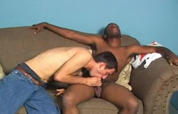 XXX interracial sex with a horny black
