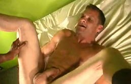 Penetrated deep by two well endowed men