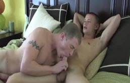 Blowjob and anal sex between two amateurs
