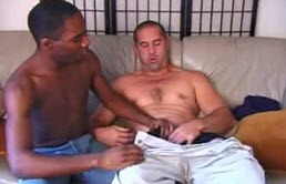 Passion et sexe oral interracial