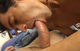Sexy latino sucks and fucks his boyfriend