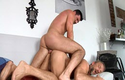 Two horny neighbors have anal sex