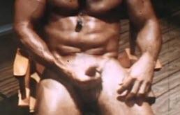 Sexy lifesaver does an hot masturbation video