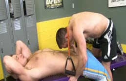 Lockeroom sex with hot and sexy jocks