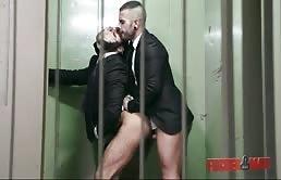 Horny bottom has hardcore anal sex