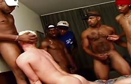 Gangbang with black boys - Part II