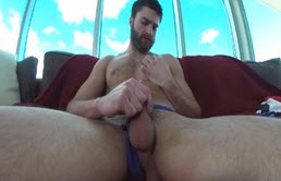 Masturbation POV with a dildo
