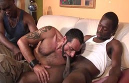 Mature passive wants two black cocks