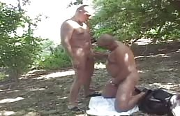 Outdoor sex with matures
