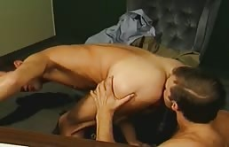 Anal sex in the office with hot gays