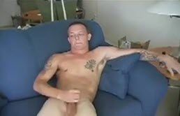Hot sexy young gay does a handjob