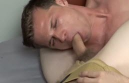 Hottie sucks a hairy cock and then fucks