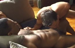 Hot black gay fucks a hot ass