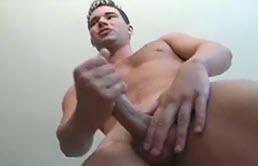 Perverse brunette masturbation scene