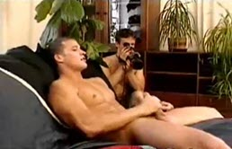 Masturbation with young recording themselves