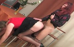 Fellations and sexe anal avec un travesti