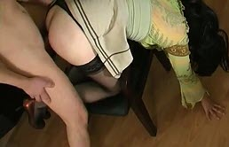 Unsatiable transvestite sucks and gets fucked