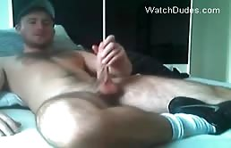 Hairy dude wants an handjob